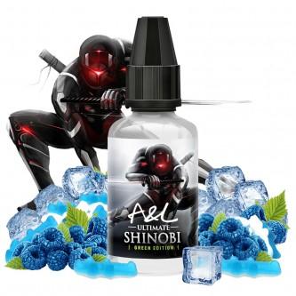 Concentré Shinobi GREEN EDITION 30ml Ultimate by Arômes et Liquides (5 pièces)