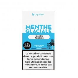 Pods Menthe Glaciale 4x1ml Wpod by Liquideo