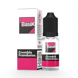 Crumble Framboise 10ml BasiK by Cloud Vapor (sels de nicotine)