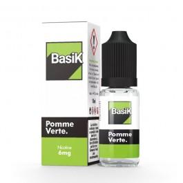 Pomme Verte 10ml BasiK by Cloud Vapor (sels de nicotine)