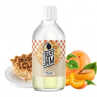 Apricot Crumble 200ml Just Jam (dropper inclus)