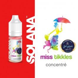 Concentré Miss Tikkles 10ml Solana (10 pièces)