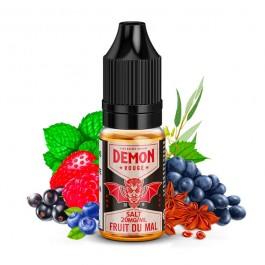 Rouge 10ml Demon Juice (sels de nicotine)