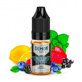 Bleu 10ml Demon Juice (sels de nicotine)