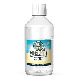 Base 20%PG / 80%VG 1L Supervape (0 mg/ml)