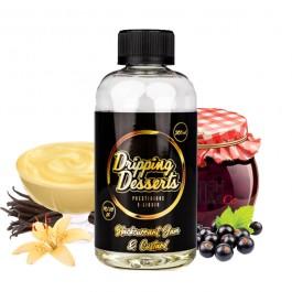 Blackcurrant Jam and Custard 200ml Dripping Desserts