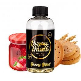 Jammy Biscuit and Custard 200ml Dripping Desserts