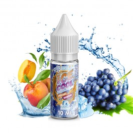 Pêche Raisin 10ml Ice Cool by Liquid'Arôm (10 pièces)