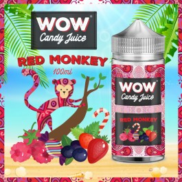 Red Monkey 50ml WOW Candy Juice by Made in Vape