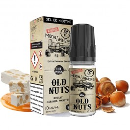 Moon Shiners : Old Nuts Salt 10ml Le French Liquide (6 pièces)