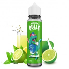 Mojito Lemonade 50ml Monsieur Bulle by Liquideo