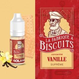 Concentré Vanille Suprême 10ml La Fabrique à Biscuits by Solana (10 pièces)