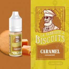 Concentré Caramel 10ml La Fabrique à Biscuits by Solana (10 pièces)