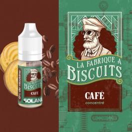 Concentré Café 10ml La Fabrique à Biscuits by Solana (10 pièces)