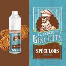 Concentré Spéculoos 10ml La Fabrique à Biscuits by Solana (10 pièces)