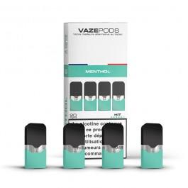 Pod Menthol pour batterie Vaze (pack de 4)