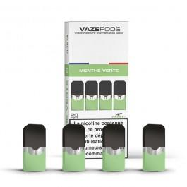 Pod Menthe Verte pour batterie Vaze (pack de 4)