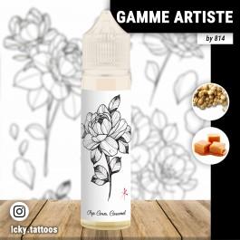 Liquide Pop-Corn Caramel 50ml Gamme Artiste by 814