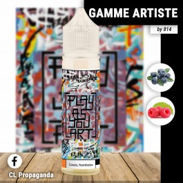 Liquide Cassis Framboise 50ml Gamme Artiste by 814