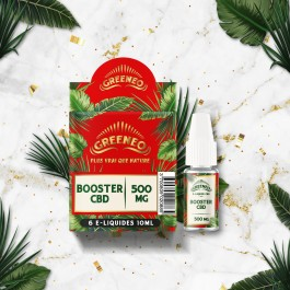 Booster GreenBoost 10ml Greeneo (6 pièces)