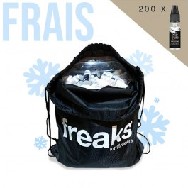 Sac de 200 boosters de nicotine Nico Freaks Fresh 10ml Freaks
