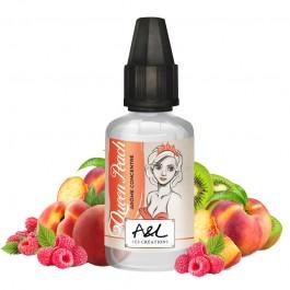 Concentré Queen Peach 30ml Les Créations by Arômes et Liquides (5 pièces)