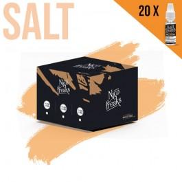 Booster de nicotine Salt Nico Freaks 10ml Freaks (20 pièces)