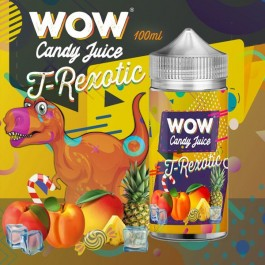 T-Rexotic 100ml WOW Candy Juice by Made in Vape