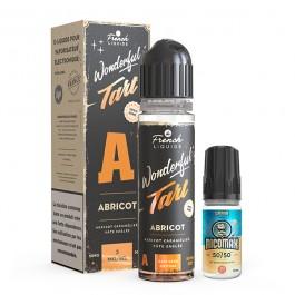 Kit Easy2Shake Abricot 60ml Wonderful Tart by Le French Liquide