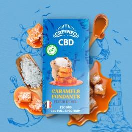 Caramels fondants à la fleur de sel CBD Greeneo