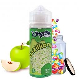 Apple Flavour 100ml Gazillions by Kingston