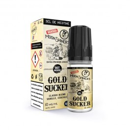 Moon Shiners : Gold Sucker Salt 10ml Le French Liquide (6 pièces)