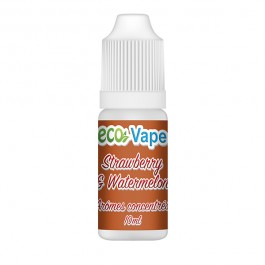Concentré Strawberry & Watermelon Eco Vape (10 pièces)