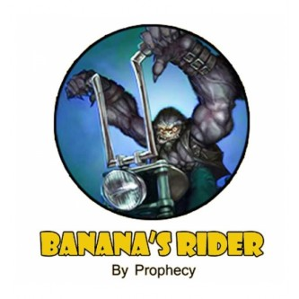 Banana's Rider 10ml Prophecy by Juice'n Vape (10 pièces)