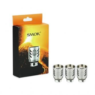 Résistances TFV8 V8-Q4 (0.15) Smok (pack de 3)