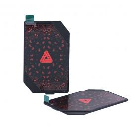 Porte Cache Box Mod 200w Limitless (Motifs Noirs & Rouges)
