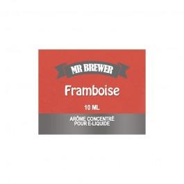 Concentré Framboise 10ml Mr Brewer (10 pièces)