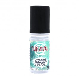 Green Frost 10ml Survival Alpha (12 pièces)