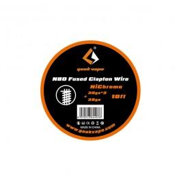 N80 Fused Clapton Wire Geekvape