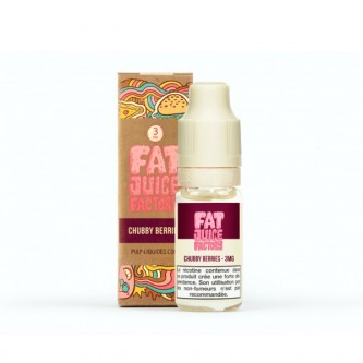 Chubby Berries 10ml Fat Juice Factory by Pulp (10 pièces)