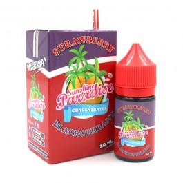 Concentré Strawberry Blackcurrant 30ml Sunshine Paradise (5 pièces)