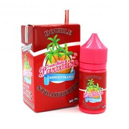 Concentré Double Strawberry 30ml Sunshine Paradise (5 pièces)