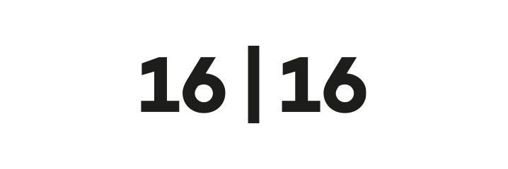 16   16